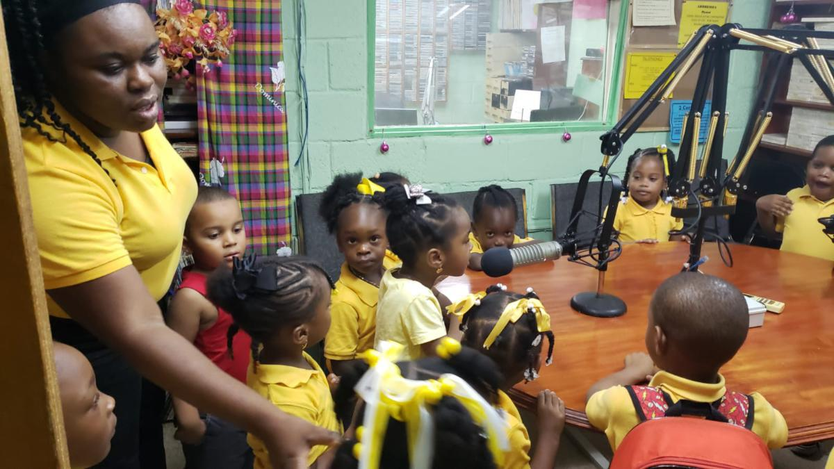 Gospel Light Christian Academy VOL station visit - June 18, 2021