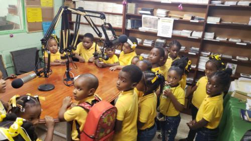 Gospel Light Christian Academy VOL station visit P6